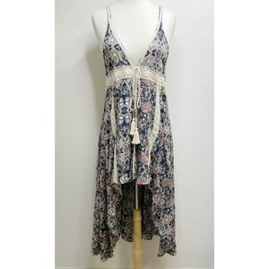 Umgee Long Cardigan Topper Floral Cover Up